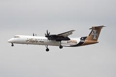 Alaska Airlines (Horizon Air) Bombardier Dash-8 Q400 N400QX (jbp274) Tags: airport cloudy horizon airplanes lax universityofidaho promotional vandals dash8 qx alaskaairlines bombardier q400 klax horizonair