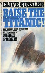 Novel-Clive-Cussler-Raise-the-Titanic (Count_Strad) Tags: book starwars fantasy future scifi novel sciencefiction
