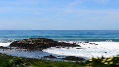 Along the Pacific Coast Highway (dalecruse) Tags: ocean california sea beach horizon pch pacificocean lightroom pacificcoasthighway