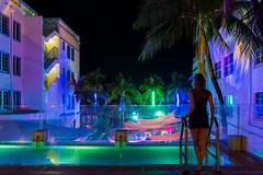 miami back (degghi) Tags: pool club disco nikon nightlights nightshot florida miami miamibeach southbeach breakwater sobe d800 oceandrive oceandr breakwaterhotel lummuspark