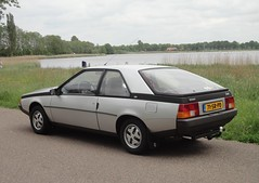 my car, ready for tomorrow's meeting (Fuego 81) Tags: renault 1981 fuego gts 71srpd sidecode6