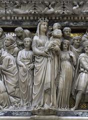 Our Lady on the Arca Domenico (Lawrence OP) Tags: saint shrine dominican tomb bologna friar sandomenico arca founder reliquary