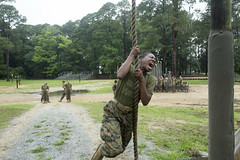November Company  Confidence Course  May 18, 2016 (MCRD Parris Island, SC) Tags: sc usmc unitedstates graduation pi di marines bootcamp grad pisc marinecorps drill err recruit basictraining parris recruiter parrisisland mcrd recruittraining drillinstructor recruitdepot mcrdpi easternrecruitregion