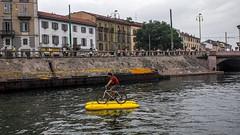 DSC08190 (eliazar.dominantez) Tags: canal italia italy lombardia lombardy milan milano navigli sports street water