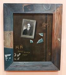 John Frederick Peto : Toms River, 1905. (neppanen) Tags: madrid art museum john painting spain frederick maalaus peto taide espanja thyssenbornemisza kuvataide thyssenbornemiszamuseum discounterintelligence maalaustaide johnfrederickpeto sampen