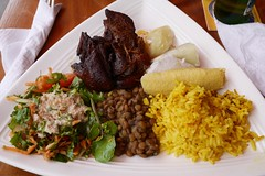 (lulun & kame) Tags: america dominica roseau caribbeanfood lumixg20f17 americasfood