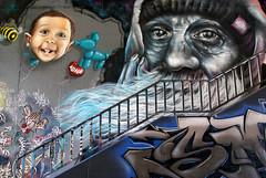 Mainz-Kastel, Brckenkopf, Graffiti (HEN-Magonza) Tags: festival germany deutschland graffiti hessen meeting styles hesse mainzkastel theodorheussbrcke brckenkopf meetingofstylesgraffitifestival