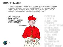 Autocritica Zero (uomoplanetario.org) Tags: uomoplanetarioorg satira chiesacattolica cardinale dirittiumani cristianesimo