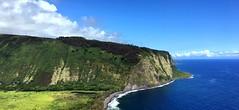 Waipio Valley (PeterCH51) Tags: hawaii bigisland us waipiovalleylookout waipio lookout coast coastline scenery landscape iphone peterch51 waipiovalley waipio kohala seacliffs cliffs shoreline