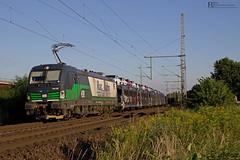 "193 230 ""RTB"" mit Autozug - 19.07.2016 - Porz Wahn (D) (Frederik L.) Tags: db bahn cargo zug rtb siemens vectron baureihe 193 rurtalbahn porz gremberg kln privatbahn"