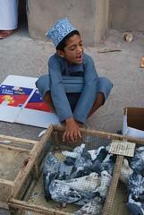 (demiel) Tags: oman mercato suk piccioni