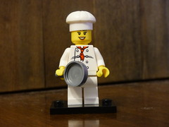 Brick Yourself Figure - Happy Chef