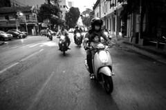 . (GiuGiu_) Tags: bangkok motorbike travel nikon action cameracar 16mm wide night movement asia thailand travelling