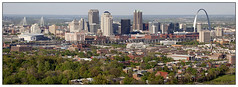 St Louis Skyline Panorama (SkylineScenes (Bill Cobb)) Tags: saintlouis stlouis aerial arch busch city cityscape downtown gateway landscape louis missouri pano panorama panoramic saint skyline stadium stl urban