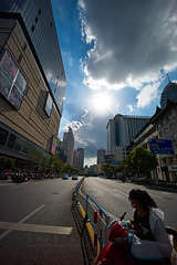 Summerday () Tags: leica leicam9 m9 streetphotography 35mm rangefinder carlzeiss zm distagont2815 summilux china street snapshot streetshot documentary architecture people portrait landscape cityscape wuxi zeisslenses zeiss carlzeisslenses zm1528 superwideangle city landscapes sunstar sunlight summer cloud flickraward