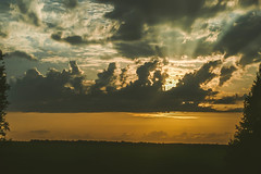Sunset (gwilwering) Tags: clouds nature sky sun sunset небо закат облака природа солнце sonya350