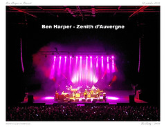 Ben Harper in Concert (BerColly) Tags: france auvergne puydedome clermontferrand zenithdauvergne ben harper concert musique music bercolly google flickr