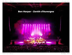 Ben Harper in Concert (BerColly) Tags: france auvergne puydedome clermontferrand zenithdauvergne ben harper concert musique music bercolly google flickr