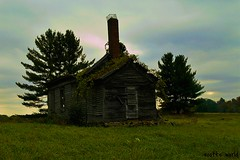 The last student left long ago (SCOTTS WORLD) Tags: adventure abandoned architecture america angle sky shadow sunlight school schoolhouse scenery schools fun fall building windows weathered trees panasonic pov perspective prairie green grass light stormy field michigan midwest oneroomschoolhouse vintage village view vassar digital decay door clouds country crusty rural dilapidated deserted destroyed desolate children outdoors outside