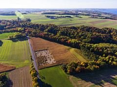 Odd Harvest (Matt Champlin) Tags: tgif friday harvest life fall autumn aerial aerialphotography drone drones 2016 beautiful cny fingerlakes