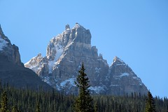 Right outside of Banff National Park in Canada (RcoasterA) Tags: mountain canada nationalpark banff snowcovered mountaintop