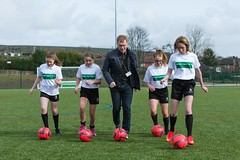 Paul Scholed opens Crompton House 3G pitch (The Football Foundation) Tags: openingevent paulscholes footballfoundation cromptonhouse 3gpitch thepremierleaguethefafacilitiesfund
