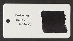 Diamine Onyx Black - Word Card