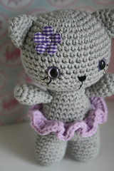 Small cat - free amigurumi pattern (lilleliis) Tags: animal cat toy diy pattern handmade kitty free instructions amigurumi tutorial