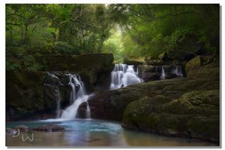 Heavenly flow, 滿月圓國家森林, Xinzhu, Taiwan