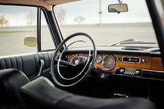 BMW 2000 (interior) (Andrey Baydak) Tags: wood classic leather 35mm 2000 dof bokeh interior automotive retro chrome german bmw oldtimer 1960s 1968 dashboard steeringwheel дерево neueklasse кожа салон хром tilux