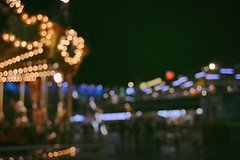 Lights in the Night (lauracvsp) Tags: madrid night lights luces noche nikon bokeh tiovivo d3200 madridsur