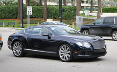 Bentley Continental GT W12 (RudeDude2140a) Tags: blue sports car continental exotic gt coupe bentley w12