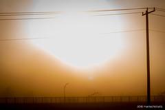 Sun breaks through _IMG1236 (mariachistatic) Tags: fog pentax connecticut waterbury chinon 50f17