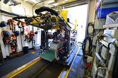 View of ROV Hercules on the E/V Nautilus (Ocean Networks Canada) Tags: samples hercules thruster nautilus ogdenpoint rov wiringtheabyss abyss16