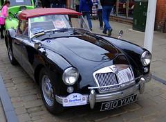 MGA, Stratford-upon-Avon Festival of Motoring 2016. (Roly-sisaphus) Tags: uk greatbritain england cars unitedkingdom gb warwickshire automobiles stratforduponavon midlands festivalofmotoring nikond802016dsc0570