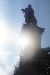 Statue of Some Guy (spinadelic) Tags: new music festival orleans south april nola jazzfest nawlins stevespencer 2016