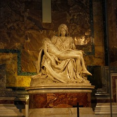 La Piet - Michelangelo Buonarroti (Patrizia1966) Tags: italy rome roma beautiful michelangelo sanpietro piet bestoftheday canoneos550d