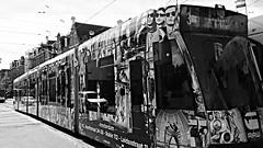 B&W&RAW (Peter ( phonepics only) Eijkman) Tags: city holland netherlands amsterdam transport nederland tram rail rails trams strassenbahn noordholland gvb streetcars combino nederlandse