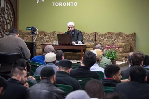 "Shaykh Yahya Rhodus at SeekersHub, Toronto and Seminar Series: Worship, Coffee and The Meaning of Life • <a style=""font-size:0.8em;"" href=""http://www.flickr.com/photos/88425658@N03/26839770025/"" target=""_blank"">View on Flickr</a>"