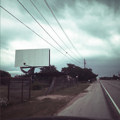From safety to where...? (Talisman39) Tags: highway ranger texas dereliction