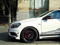 Mercedes-Benz A 45 AMG (boti_marton) Tags: auto car lumix mercedes europa hungary budapest panasonic mercedesbenz dmc amg magyarorszg sportcar aclass mercedesamg lz20 a45amg