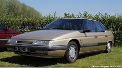 Citron XM V6 1990 (XBXG) Tags: auto old france holland classic netherlands car mobile vintage french automobile nederland citron voiture frankrijk paysbas 1990 xm v6 ancienne 2016 vijfhuizen franaise citromobile citro citronxm dl595qe