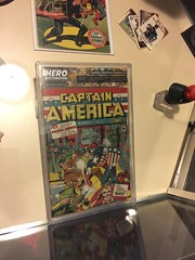 """Captain America #1 from 1941 • <a style=""""font-size:0.8em;"""" href=""""http://www.flickr.com/photos/28558260@N04/27022991561/"""" target=""""_blank"""">View on Flickr</a>"""