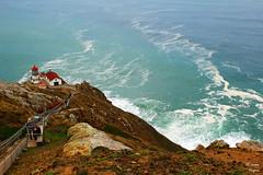On the Edge (jhagani13) Tags: california winter usa lighthouse canon coast unitedstates explore canonrebel headlight pointreyes seashore canonphotography amateurphotography jasonhagani jasonhaganiphotography
