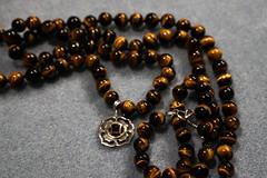 Tigers Eye and Garnet (irvingwhitney) Tags: eye diy beads crystals homemade tigers healing mala garnet a6000 alpha6000 sonya6000