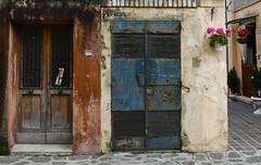 Blue Steel Doors (ramislevy) Tags: door venice italy house color home architecture island burano venetianlagoon