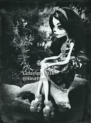 (Linayum) Tags: skelitacalaveras skelita mh monster monsterhigh monochrome weird doll dolls mueca muecas toys juguete linayum
