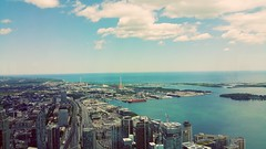 From 1780ft of CN tower! (jok33) Tags: cntower toronto skyscraper tallbuildings lake