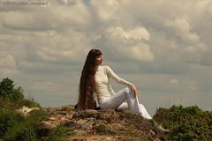 Natalya Hrebionka (Natali Antonovich) Tags: portrait sky castle history lifestyle belarus oldest oldworld oldtime reverie romanticism novogrudok navahrudak natalyahrebionka motherlandbelarus poetessnatalyahrebionka ruinsofnavahrudakcastle