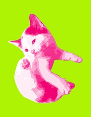gato2 (Charlieatoz) Tags: cats andy cat kitten kitty kittens gatos pop maternity popart gato kitties warhol maternidad